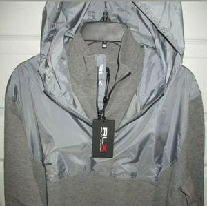 Polo Ralph Lauren RLX Gray Knit Viscose Blend
